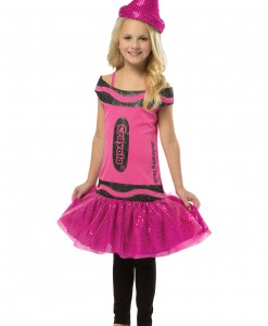 Child Crayola Glitz Blush Dress