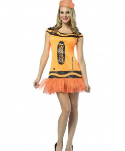 Women's Crayola Glitz Orange Dress