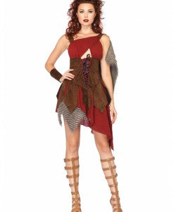 Women's Deadly Huntress Costume