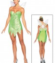 Womens Disney Classic Tink Costume