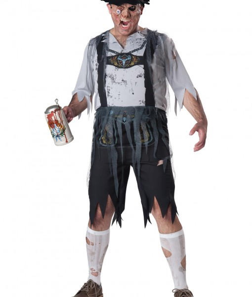 Plus Size Zombie OktoberFeast Costume