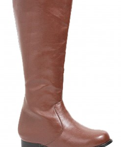 Boys Brown Costume Boots