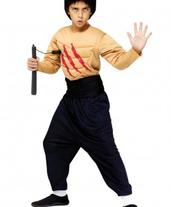 Child Kung Fu Master Costume