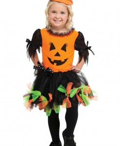 Toddler Jilly O'Jack Pumpkin Costume