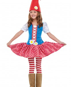 Toddler Gnome Girl Costume
