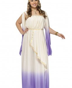 Plus Size Purple Goddess Costume