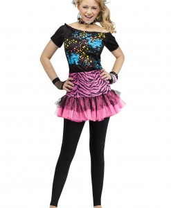 Teen 80s Pop Party Costume