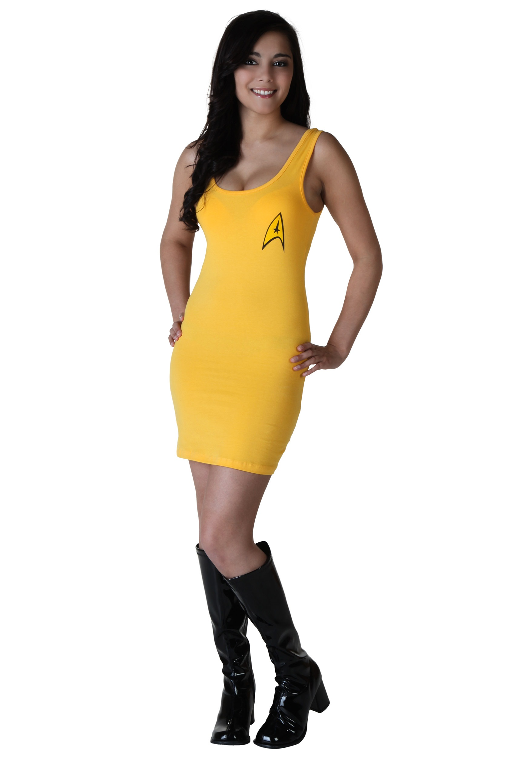 Womens Star Trek Yellow Tunic Dress  sc 1 st  Findema & Womens Star Trek Yellow Tunic Dress - Halloween Costume Ideas 2016