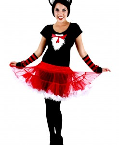 Cat in the Hat Adult Tutu Costume
