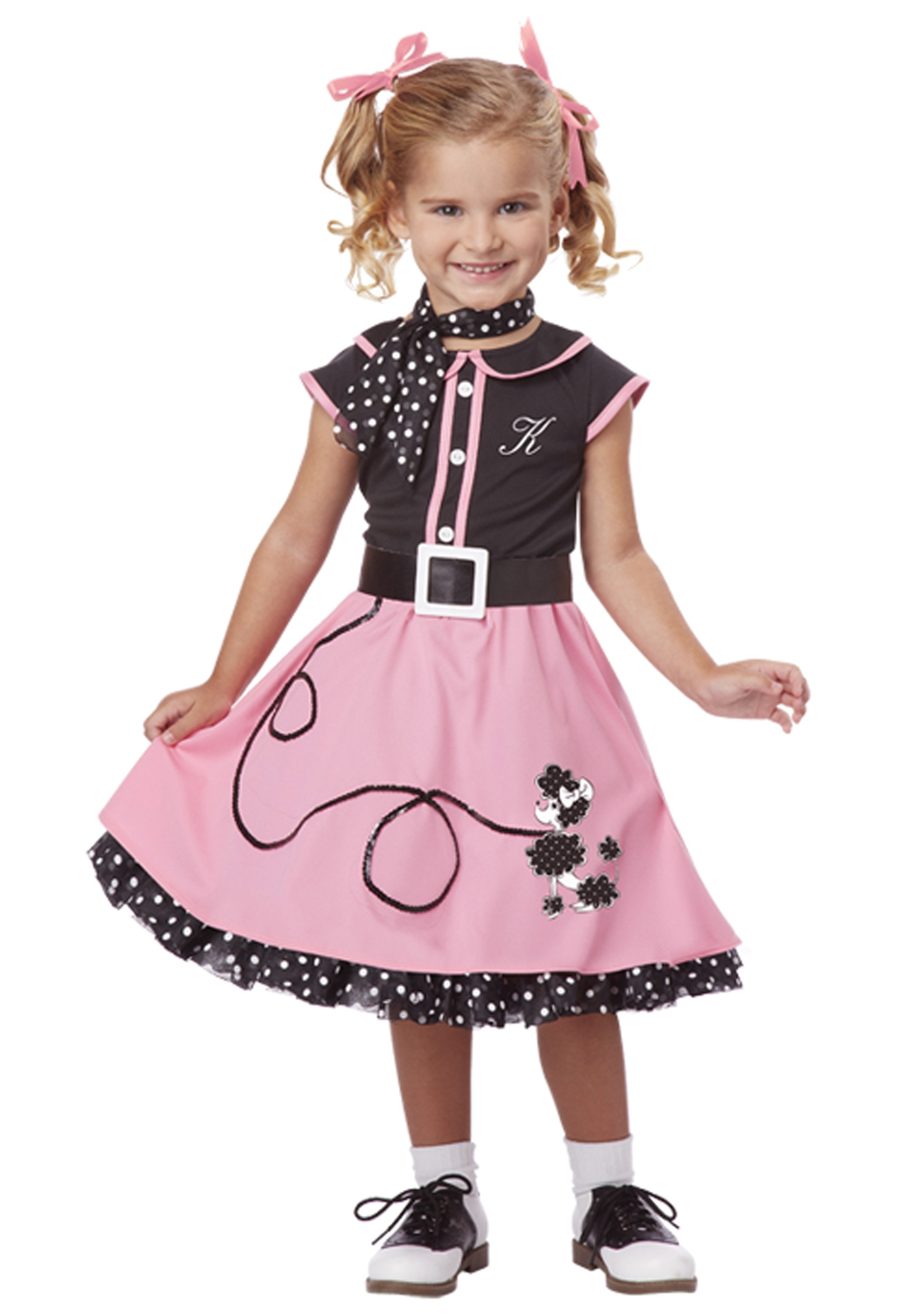 Toddler 50s Poodle Cutie Costume Halloween Costume Ideas 2016