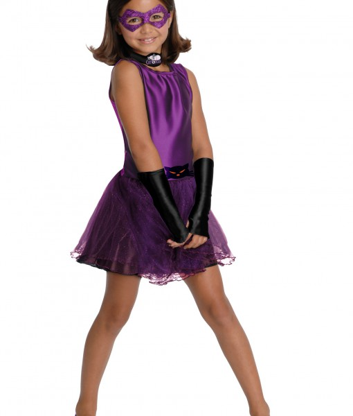 Girls Catwoman Tutu Costume