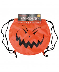 Jack-O-Boo Drawstring Backpack