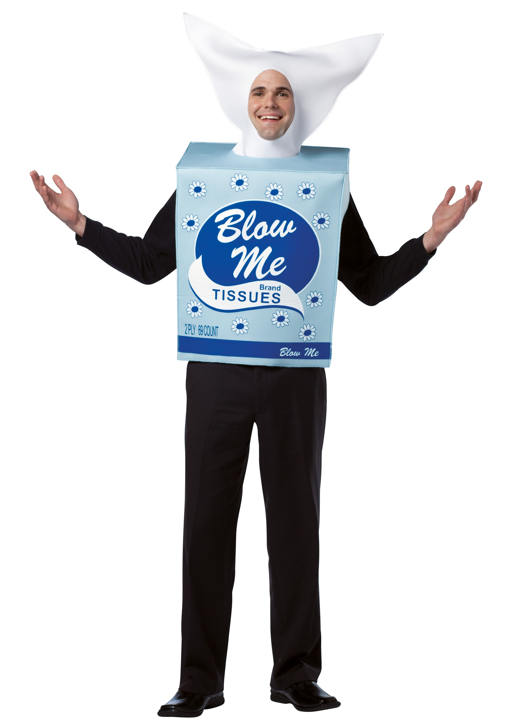 Blow Me Tissues Costume - Halloween Costume Ideas 2016