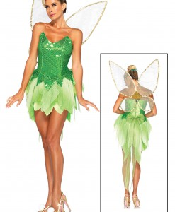 Womens Disney Pixie Dust Tink Costume