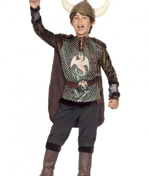 Boys Viking Costume