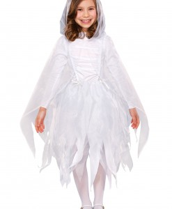 Girls Glimmer Ghost Costume