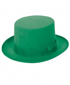 Wool Green Top Hat