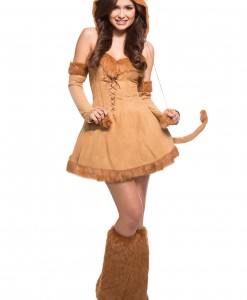 Sexy Plus Size Lion Costume