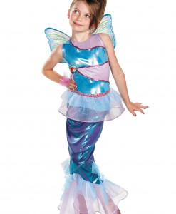 Girls Bloom Mermaid Deluxe Costume