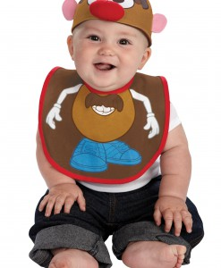 Infant Mr. Potato Hat and Bib Set