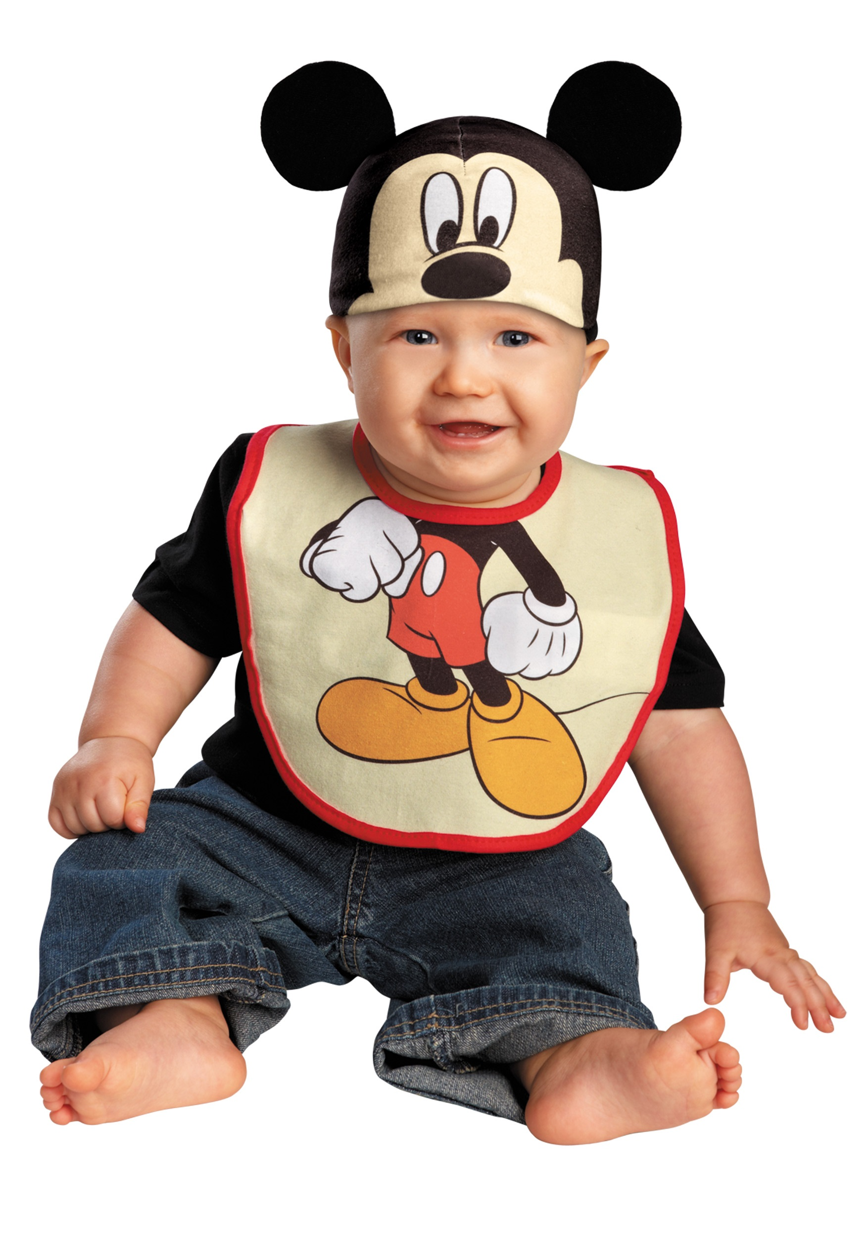 Infant Mickey Mouse Hat and Bib Set - Halloween Costume Ideas 2018 98c083cfa01