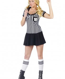 Womens Racy Referee Costume