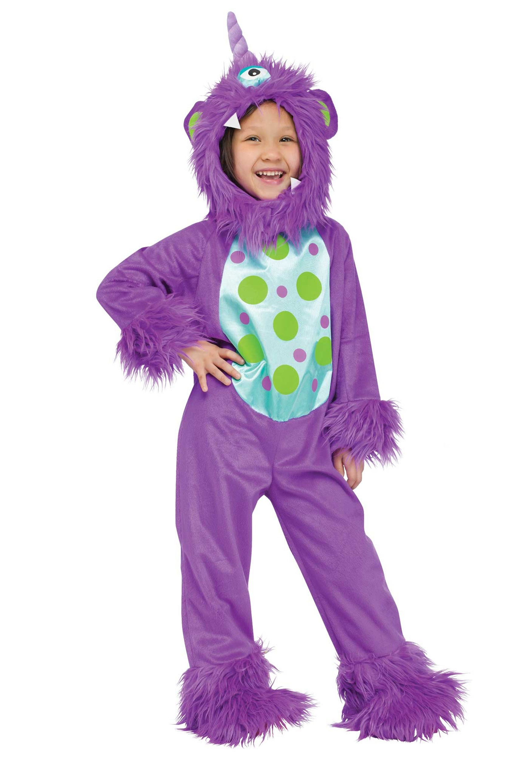 toddler lil monster purple costume - halloween costume ideas 2018