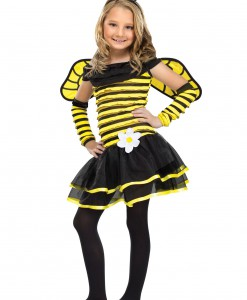 Girls Busy Bee Costume
