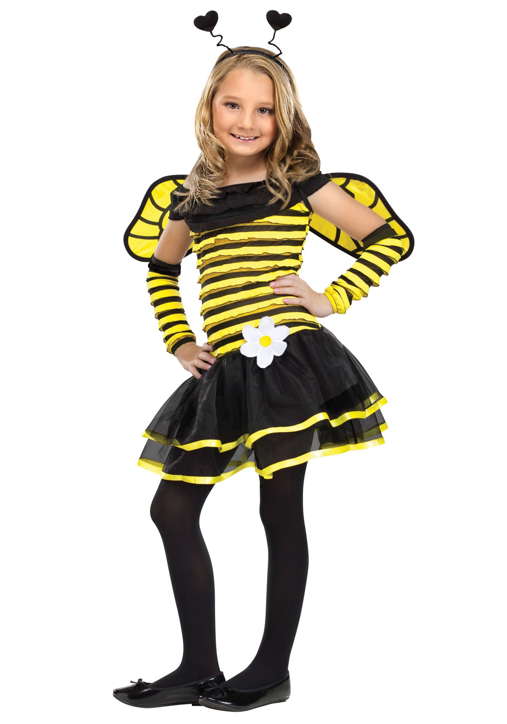 girls busy bee costume - halloween costume ideas 2018