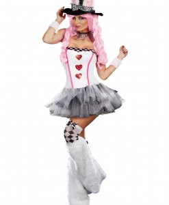Womens Lost in Wonderland Rabbit Costume