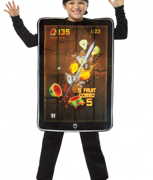 Child Fruit Ninja Screenshot Costume