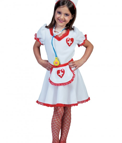 Girls Nurse Nancy Costume