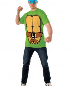 TMNT Leonardo Adult Costume Top