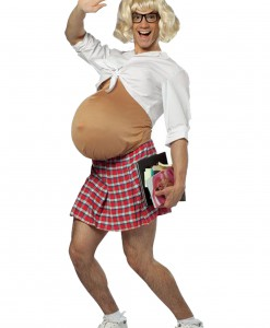 Pregnant School Girl Costume