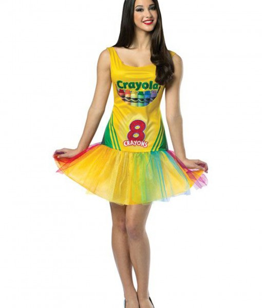 Women's Tutu Crayon Dress