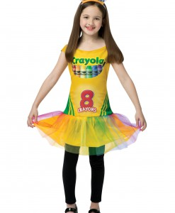Child Tutu Crayon Dress
