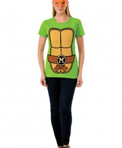 TMNT Michelangelo Adult Costume Top