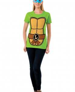 TMNT Womens Leonardo Costume Top