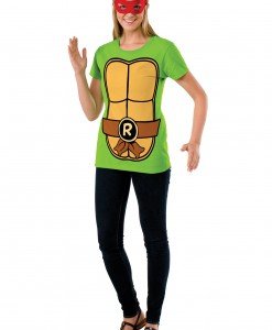 TMNT Women's Raphael Costume Top
