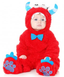 Infant Monster Madness Red & Blue Costume