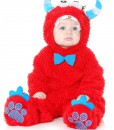 Toddler Monster Madness Red & Blue Costume
