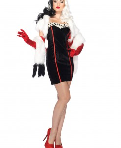 Plus Size Disney Cruella Costume