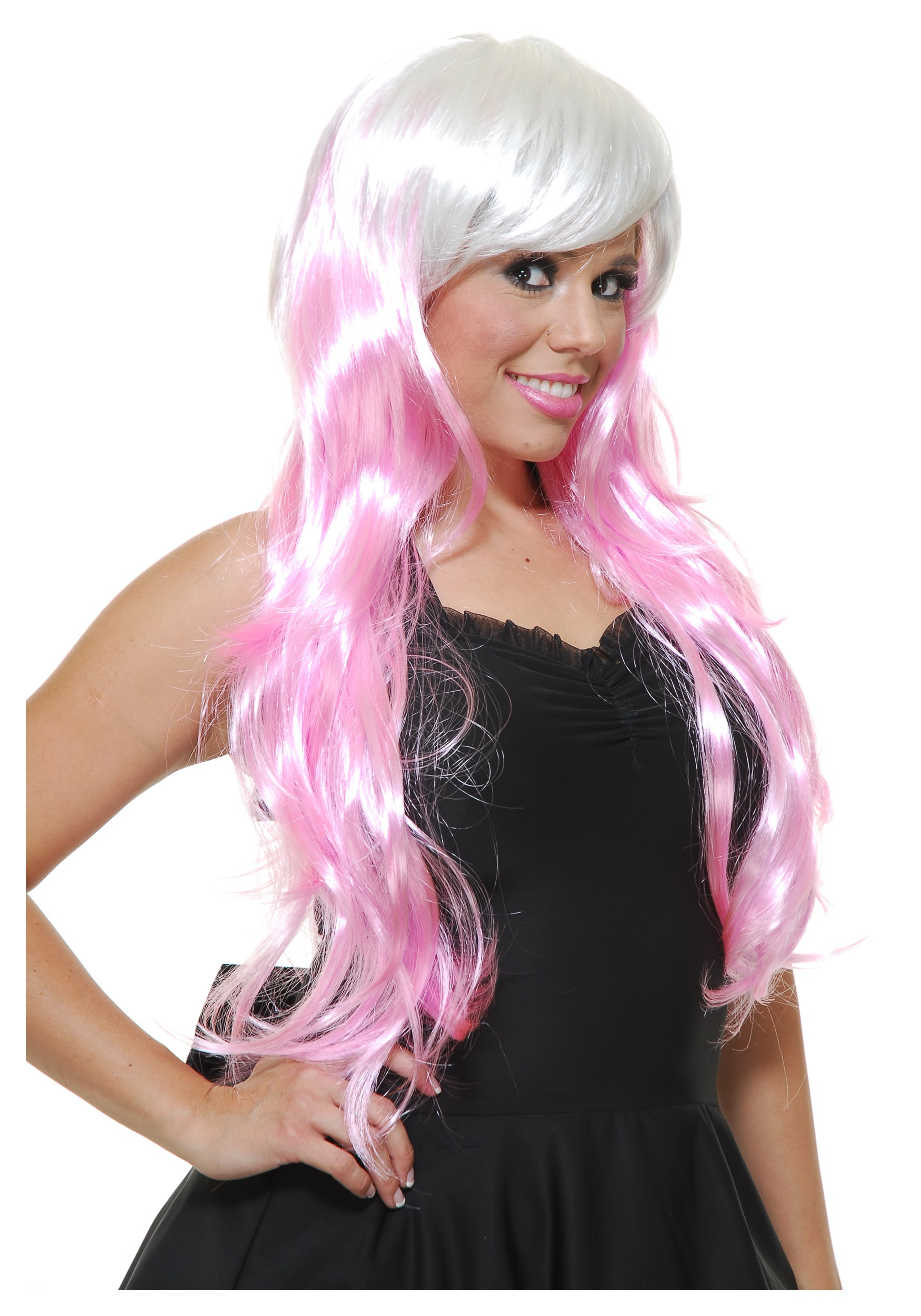 bubble gum white pink wig halloween costume ideas 2016