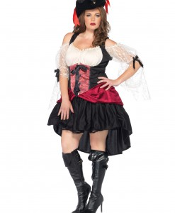 Women's Plus Size Wicked Wench Costume