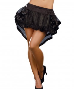 Black High-Low Petticoat