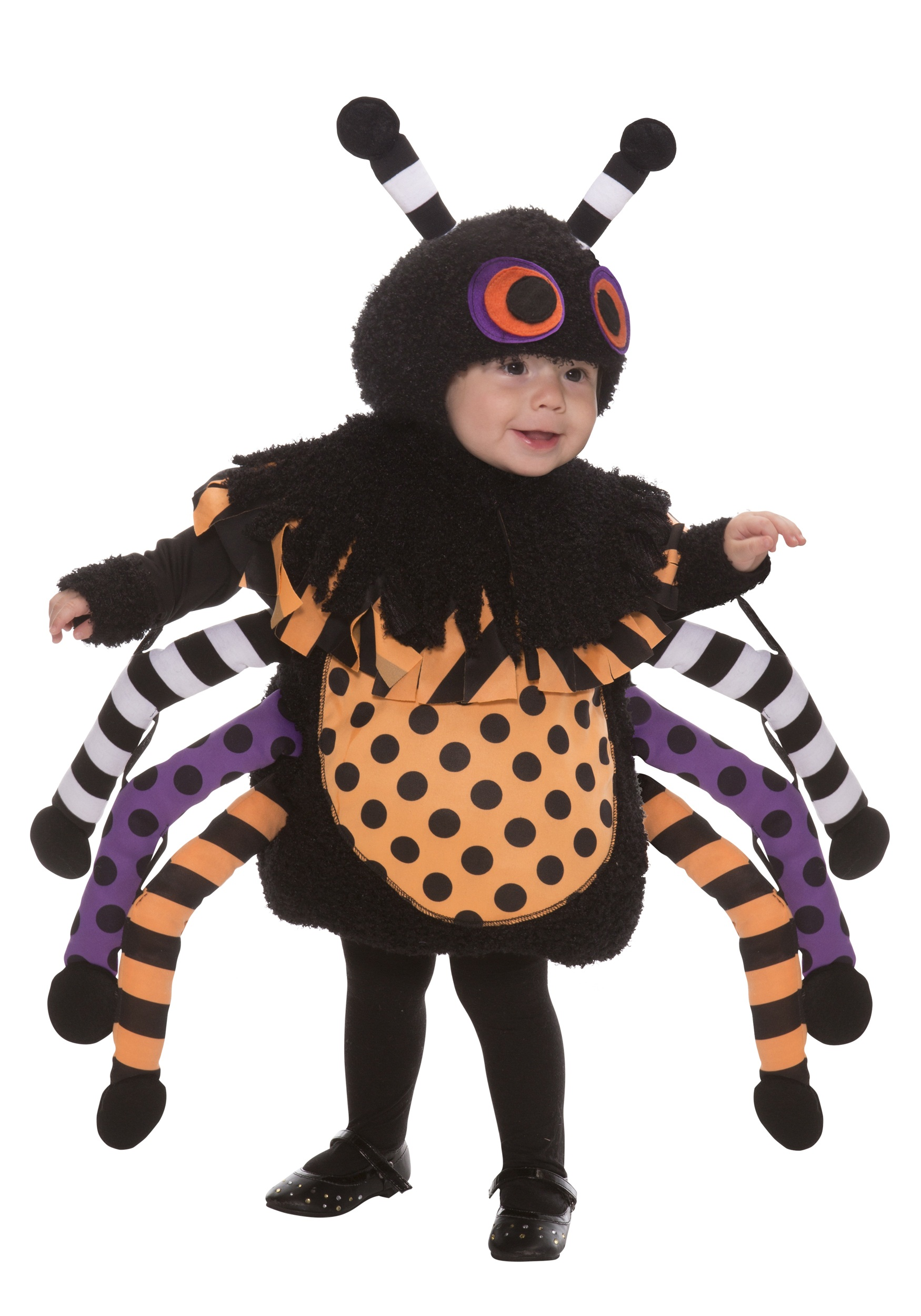 Toddler Polka Dot Spider Costume  sc 1 st  Halloween Costumes : spider halloween costumes  - Germanpascual.Com