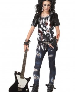 Teen Rocked Out Zombie Costume