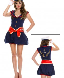 Women's Captivating Captain Costume