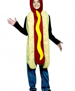 Teen Hot Dog Costume
