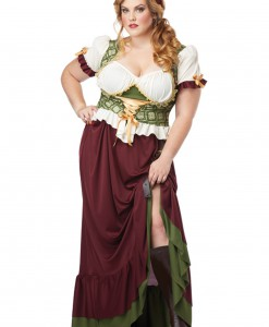 Plus Size Renaissance Wench Costume